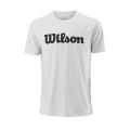 Wilson Tshirt Team Logo 2018 weiss Herren