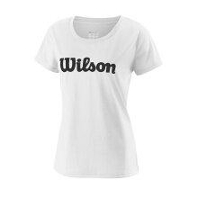 Wilson Shirt Team Logo 2018 weiss Damen