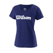 Wilson Shirt Team Logo dunkelblau Damen