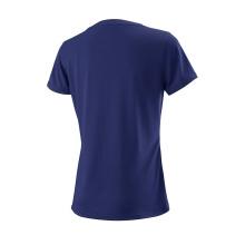 Wilson Shirt Team Logo 2018 dunkelblau Damen