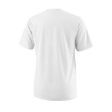 Wilson Tshirt Team Logo 2018 weiss Boys