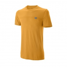 Wilson Tshirt Competition Seamless Crew 2019 orange Herren