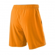 Wilson Short Competition 8 2019 orange Herren