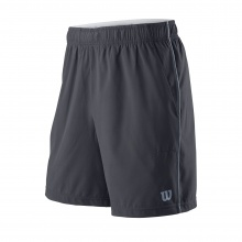 Wilson Short Competition 8 2019 grau Herren