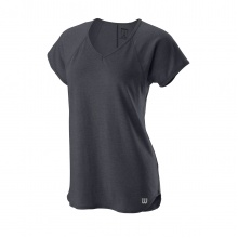 Wilson Shirt Training V-Neck 2019 grau Damen