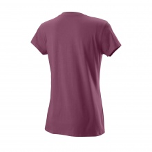 Wilson Tennis-Shirt Lineage Tech violett Damen