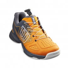 Wilson KAOS QL (Quicklace) 2021 orange Allcourt-Tennisschuhe Kinder