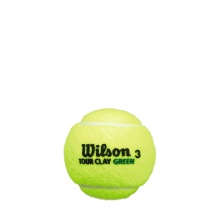 Wilson Tour Clay Tennisbälle 4er