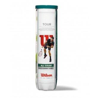 Wilson Tour Allcourt Tennisbälle 4er