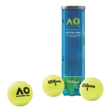 Wilson Australian Open Tennisbälle 4er
