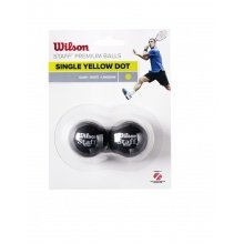 Wilson Squashball Staff (1 Punkt) 2er