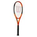 Wilson Burn 100 LS 2017 orange/schwarz Tennisschläger - unbesaitet -