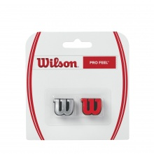 Wilson Schwingungsdämpfer Pro Feel silber/rot 2er