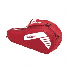 Wilson Racketbag Match Junior 2018 rot 3er