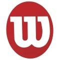 Wilson Logoschablone Tennis Logo rot