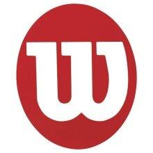 Wilson Logoschablone Tennis rot