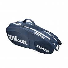 Wilson Racketbag Team III 2018 navy 6er