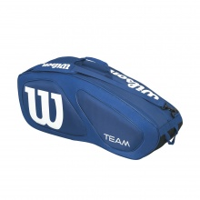 Wilson Racketbag Team II 2017 navy 6er