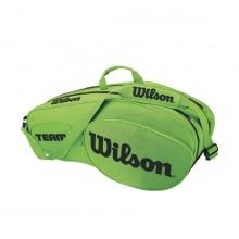 Wilson Racketbag Team III 2018 lime 6er