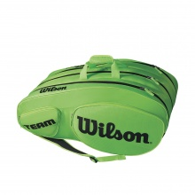 Wilson Racketbag Team III 2018 lime 12er