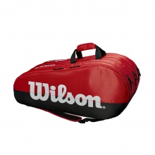 Wilson Racketbag Team Comp 3 2019 rot 15er