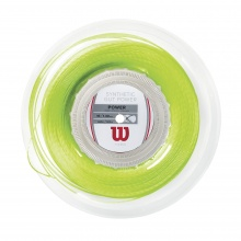 Wilson Synthetic Gut Power 1.30 lime 200 Meter Rolle