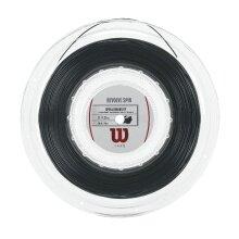 Wilson Revolve Spin schwarz 200 Meter Rolle