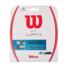 Wilson Duo Power (NXT Power + Alu Power) hybrid Tennissaite