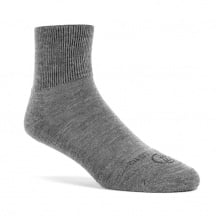 Wundersocks Alltags-/Sportsocke Ankle GO Merinowolle grau - 1 Paar