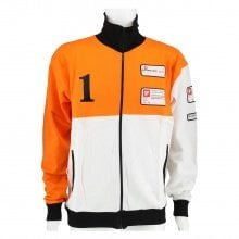 X-Bionic Sweatshirt Tricolour Fullzip orange/weiss Herren