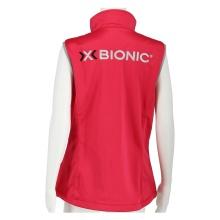 X-Bionic Softshell Weste Promo deep rose Damen