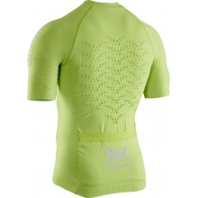 X-Bionic Bike-Shirt Effektor 4.0 Full-Zip Kurzarm lime Herren