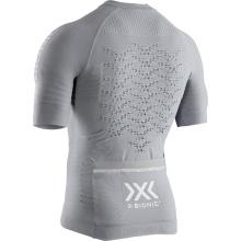 X-Bionic Bike Effektor 4.0 Tshirt Full Zip 2019 grau Herren