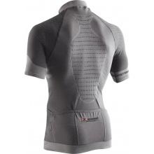 X-Bionic Fahrrad Tshirt Fennec 4.0 Full Zip grau Herren