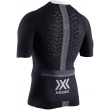 X-Bionic Bike The Trick 4.0 Tshirt Full Zip 2019 schwarz Herren
