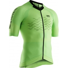 X-Bionic Bike The Trick 4.0 Tshirt Full Zip lime Herren