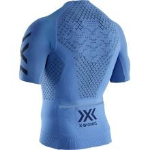 X-Bionic Bike Twyce 4.0 Tshirt Full Zip blau Herren