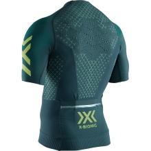 X-Bionic Bike Twyce 4.0 Tshirt Full Zip 2019 dunkelgrün Herren