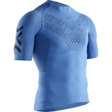 X-Bionic Running Twyce 4.0 Tshirt blau Herren
