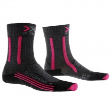 X-Socks Trekkingsocke Light Comfort anthrazit/fuchsia Damen