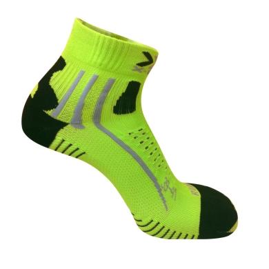 X-Socks Laufsocke Effektor XBS Short lime/schwarz Herren