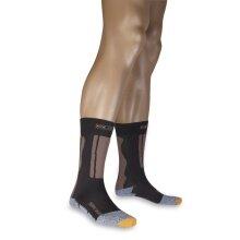 X-Socks Reitsocke Riding Silver Short schwarz/braun