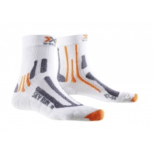 X-Socks Laufsocke Sky Run V2.0 weiss/orange Herren