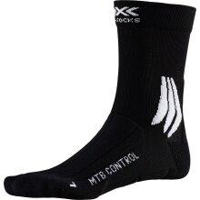 X-Socks Radsocke MTB Control 4.0 2019 schwarz/weiß Herren
