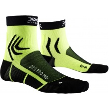 X-Socks Radsocke Bike Pro Mid 4.0 2019 gelb/schwarz Herren
