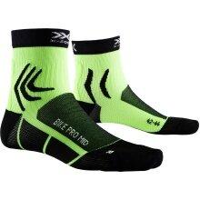 X-Socks Radsocke Bike Pro Mid 4.0 2019 grün/schwarz Herren