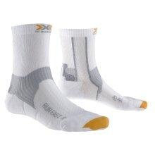 X-Socks Laufsocke Run Fast weiss Herren