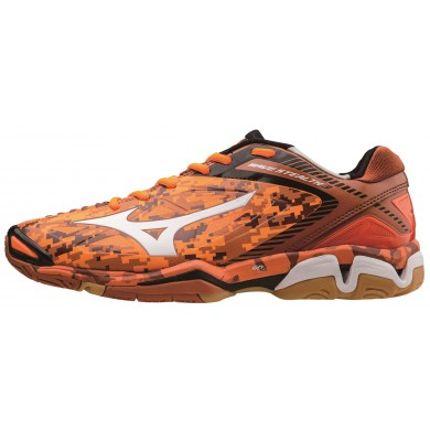 Mizuno Wave Stealth 3 orange Handballschuhe Herren