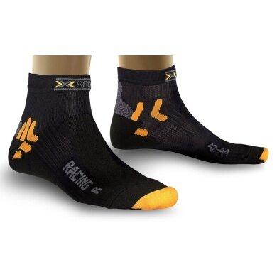 X-Socks Radsocke Bike Racing schwarz Herren