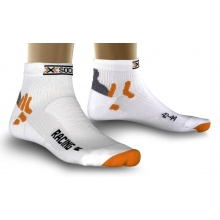 X-Socks Radsocke Bike Racing weiss Herren